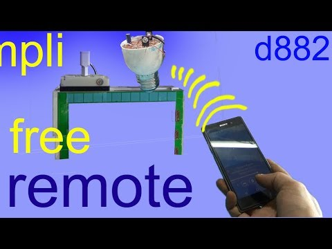 How to make a bluetooth audio receiver circuit, simple audio amplifier 13003 and D882