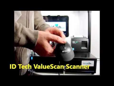 Best Barcode Scanner/Reader (Entry Level): ID Tech ValueScan Handheld Barcode Scanner/Reader