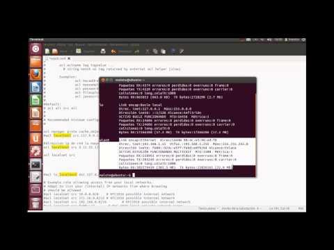 Configuracion Proxy con squid3 en Linux - Ubuntu