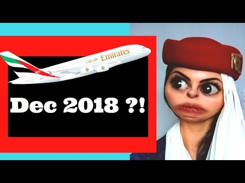 Emirates Won't Start Recruiting Until Dec 2018 ??