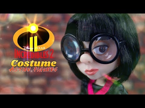 Unbox Daily:  Disney Pixar The Incredibles 2 | Costume Action Figures | Action Dolls