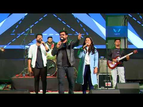 Stephen Devassy and Solid Band , Performed at Kengeri Campus - PART 2