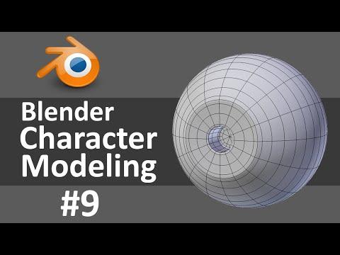 Blender Character Modeling 9 of 10