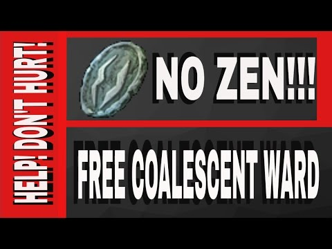 FREE Coalescent Wards NO ZEN!!!! Free Coal Ward all you gotta do is pray for it :)