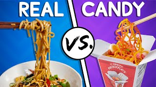 We Try the Ultimate Real vs Candy Challenge #2