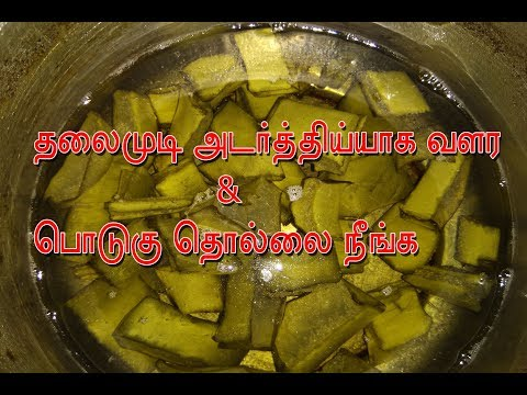 hair fall problem solution and dandruff control in homemade tips in tamil