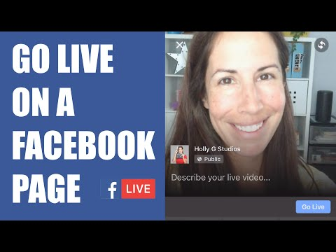 How to Go Live on a Facebook Page