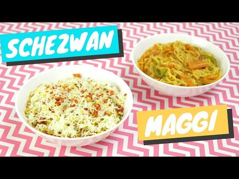 Schezwan Maggi Recipe With/ Without Cheese   #CookingWithDhwani