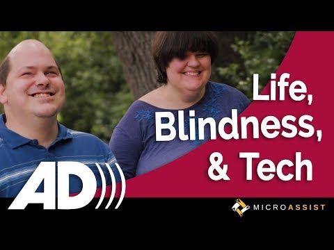 Josh and Lauren on Life, Blindness, and Online Accessibility—AUDIO DESCRIBED