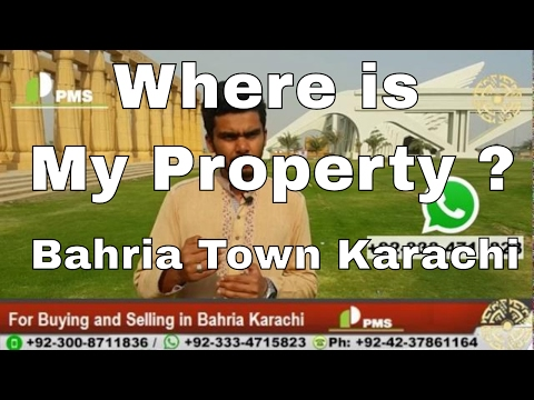 Bahria Town Karachi Buyers & Sellers Personal Services by PMS, Know More About Your Property BTK
