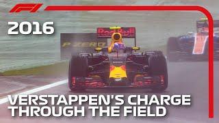 Max Verstappen's Mesmerising Drive In The Wet | 2016 Brazilian Grand Prix