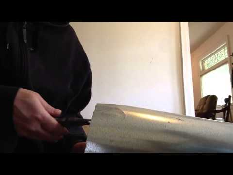 How to crimp your round ductwork  with no crimping tool