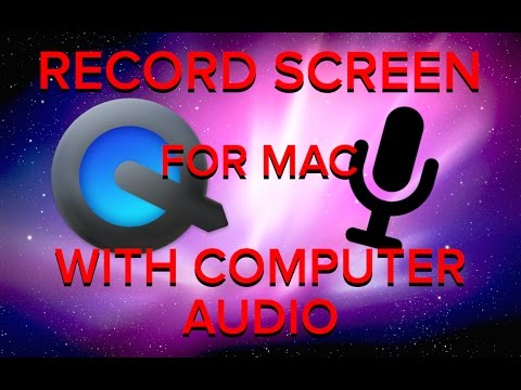 How to record your Mac screen with computer audio EASY WAY!