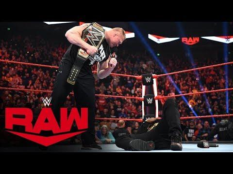 Xxx Mp4 Brock Lesnar Sends R Truth To Suplex City Raw Jan 13 2020 3gp Sex