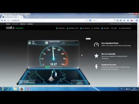 Internet speed test - Max download & upload