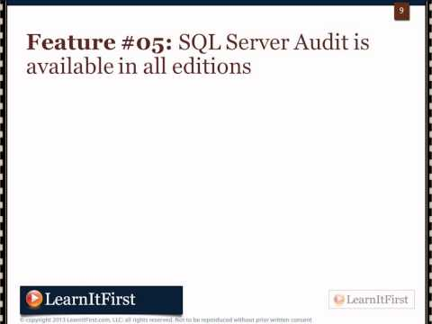 An Overview of What's New in SQL Server 2012 for DBAs