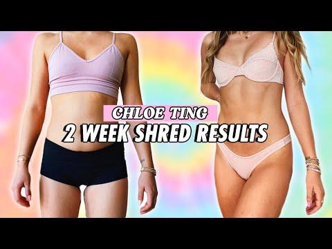 Chloe Ting 2 Week Shred Challenge Results ABS In 2 WEEKS ...