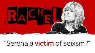 Rachel Johnson on Serena sexism row