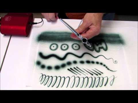 Cake Decorating Airbrush--Part 2--Using Small Airbrush Sets