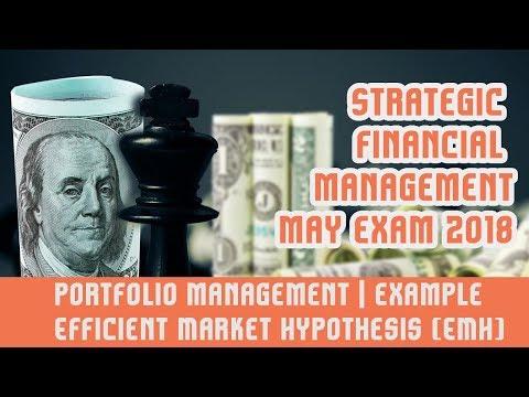 Portfolio Management II | Solved Question | Efficient Market Hypothesis (EMH) | Part B