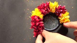 how to string rose petal garland