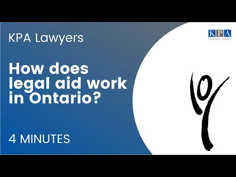 How Does Legal Aid Work in Ontario?