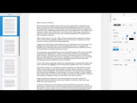 Pages Tips How To Create Multiple Pages on Pages Mac 5.6.2