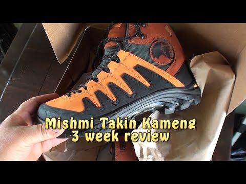 Mishmi Takin Kameng Boots. 3 week review