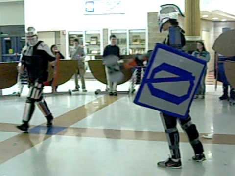 Cardboard Armor Battle