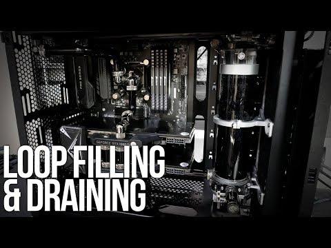 Liquid Cooling: Filling & Draining