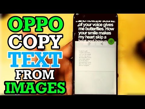 Oppo Copy Text From Images