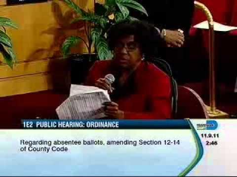 Meet a victim of absentee ballot fraud