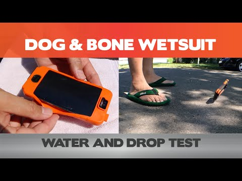 Drop and Water Test - Dog & Bone Wetsuit - iPhone cases