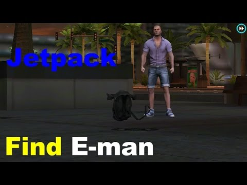 How To Find E-Man In Gangstar Vegas Mission (Leaf on the wind)