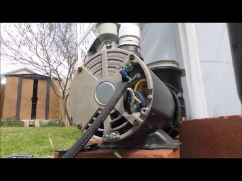 Replacing Pool Pump's power cord