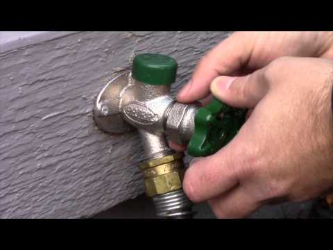 PRIER Style Hydrant Repair Video - Leaking Behind Handle
