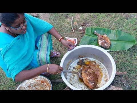 Amazing Full Fish Recipe Cooking in My Village / Yummy Taste Fish