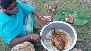 Amazing Full Fish Recipe Cooking in My Village / Yummy Taste Fish
