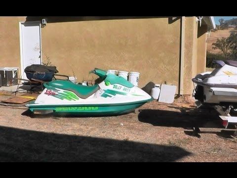 How To Unload A Jet Ski From A Trailer The Easy & Fun Way!!