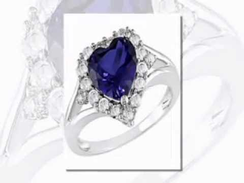 Blue Star Sapphire Rings