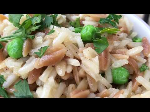 Rice Pilaf from Scratch - How to Make Homemade Rice Pilaf Recipe
