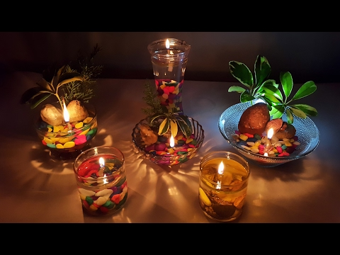 How to make beautiful water candles at home- Safe and easy way.