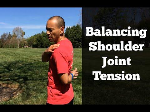 Shoulder Rotator Cuff Exercises #3 - Contraction of Rotator Cuff Muscles