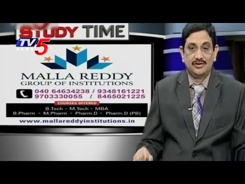 How To Choose The Right Branch In B Tech | Malla Reddy Group Of Institutions | Study Time | TV5 News