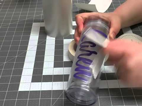 How to Reverse weed, layer, and apply a decal to a tumbler