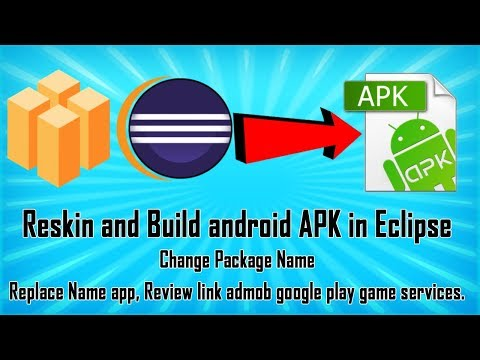 Reskin and Build android APK in Eclipse - Buildbox Project - Video Tutorial