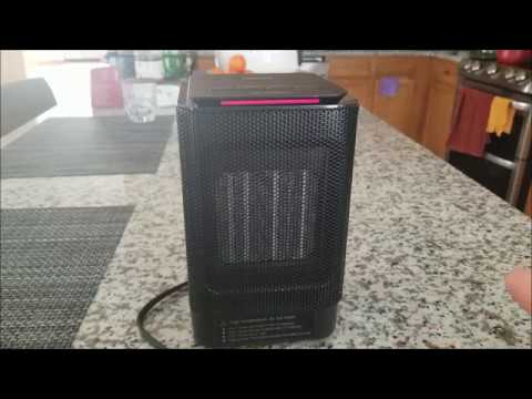 Oittm Personal Space Heater Review!
