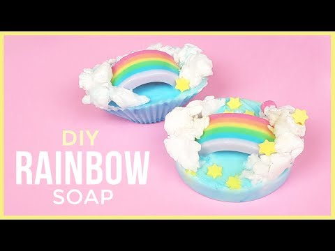 DIY Rainbow Soap | Easy & Fun DIY Soap Making