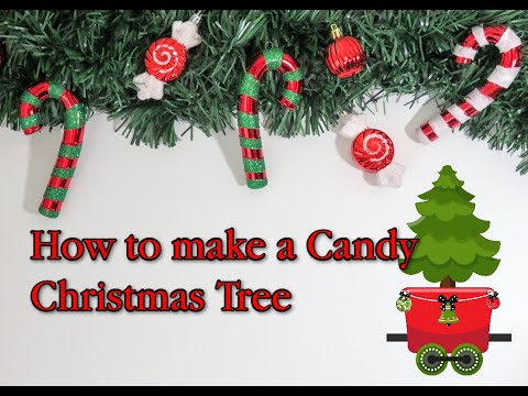 Candy Christmas Tree Tutorial by A Touch of Sparkle by Monica