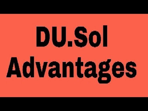 Why Du.Sol(Correspondence) Is Better than Du.Regular College ???
